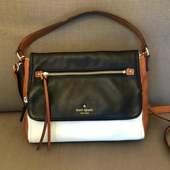 Kate Spade Medium Flap Shoulder Bag Purse